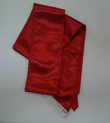 Red Sash Pirate Sash Prince Royal Princess Queen Belt Costume Accessory 80in