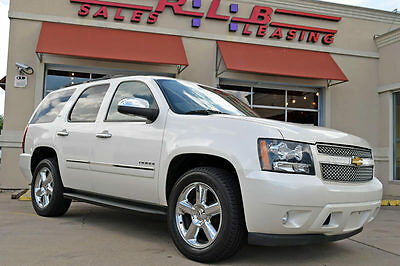 "2013 Chevrolet Tahoe LTZ Sport Utility 4-Door 2013 Chevrolet Tahoe LTZ, Navigation, Leather, DVD, 20"" Wheels, More!"