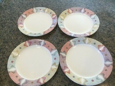 """CORNING CORELLE MIRAGE BREAD AND BUTTER PLATE 7 1/4"""" (Set of 4)"""
