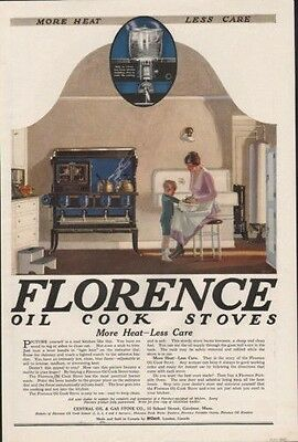 1920 Florence Oil Stove Cook Gas Kitchen Appliance Ad7751