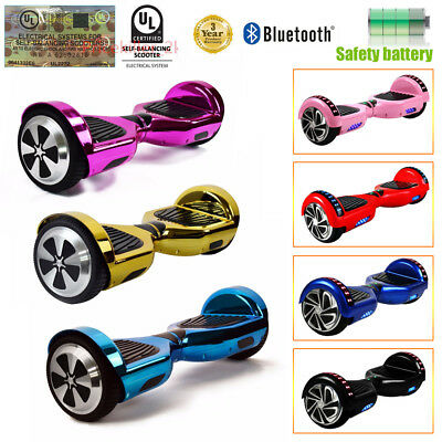 """Scooter électrique Hoverboard 6.5""""Gyropode tout terrain-Skate-NEUF"""