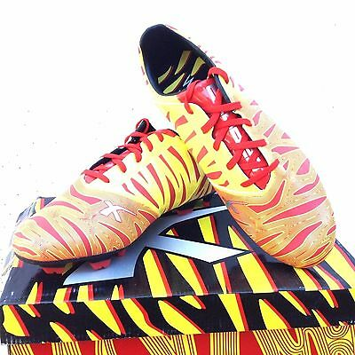 X  BLADES MENS  WILD THING  FOOTBALL BOOT SIZE 11.5 USA 10.5 uK        orange