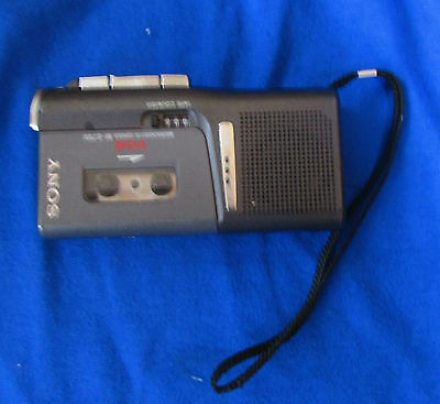 Sony M-679V Micro-Cassette Voice Activated Recorder Works Great !!!!