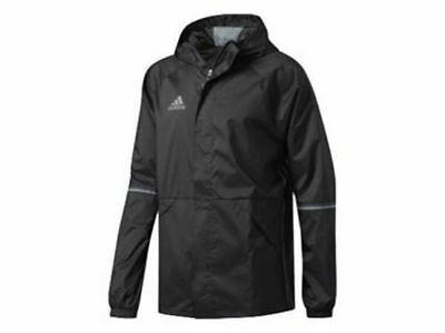 Adidas Training Con16 Rain Jacket Coat Black Adults - AN9862