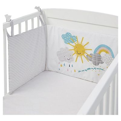 NEW Tesco Weather Cot Bed Bumper