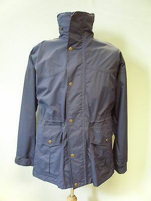 Woof Wear Gents Polartec Navy Jacket Size Small