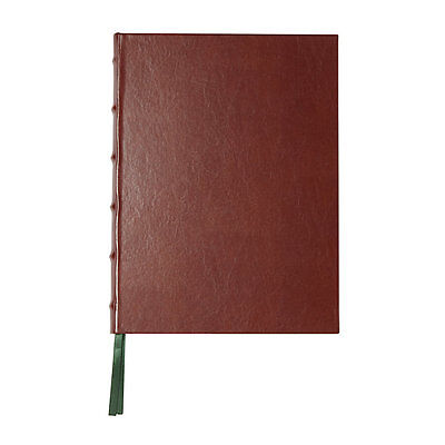 Markings by C.R. Gibson Brown Bonded Leather Cover Journal 256 Ruled 7.5x10