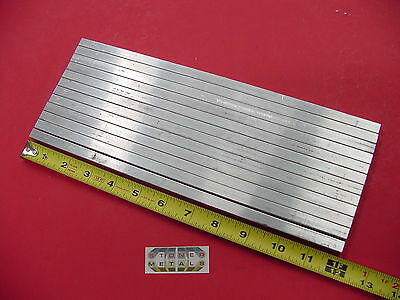"12 Pieces 3/8"" X 3/8"" ALUMINUM SQUARE 6061 T6511 FLAT BAR 12"" long Mill Stock"