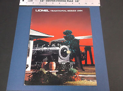 Collectible 1984 Lionel Traditional Series Model Electric Train Catalog Vg-Cond