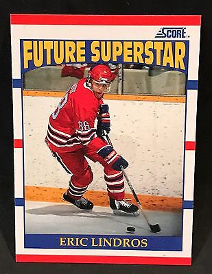1990-91 Score Canadian Hockey Eric Lindros Rookie Card #440 Flyers Nmt/mt-Mint