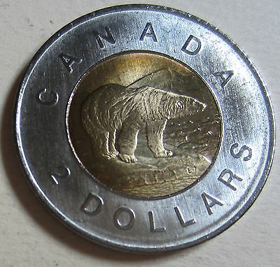 2009 Canada Toonie Two Dollar Coin (Mint Condition UNC.)