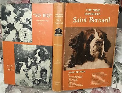 The New Complete Saint Bernard, new edition, revised dog book 1964