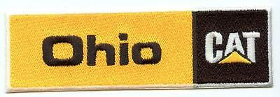 "Ohio CAT Caterpillar 4.75"" Embroidered Dealer Patch Tractor Iron or Sew on"