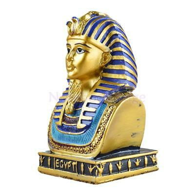Ancient Egyptian Decorative Large King Tut 6'' H Figurine Statue Craftworks
