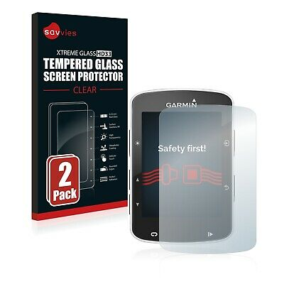 2x TEMPERED GLASS SCREEN PROTECTOR for Garmin Edge 520 / 820