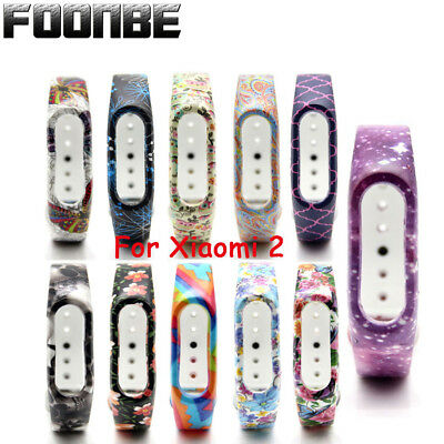 Fitness Band Wristband Bracelet Strap For Xiaomi Mi Band 2 Pattern Replacement