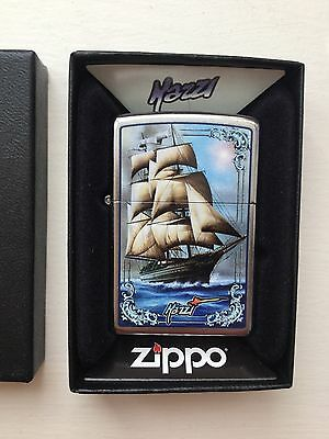 Zippo Lighter By Mazzi  Naval Ship