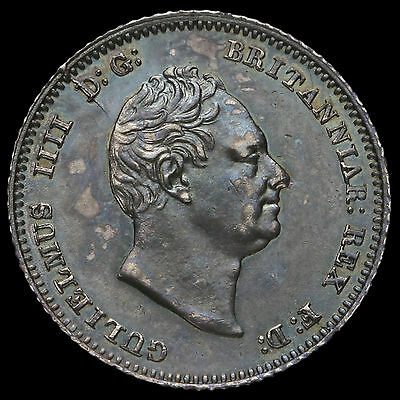 1837 William IV Milled Silver Fourpence / Groat, G/EF