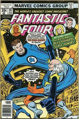 Fantastic Four #197 - NM-