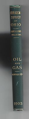 Geological Survey of Ohio Oil & Gas  1903  325 pgs  Many maps/cross sections