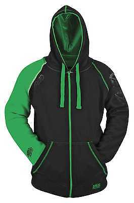 Speed & Strength United By Speed Adult Armored Hoody/Sweatshirt, Green, Large/LG