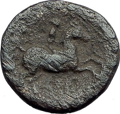 Philip II 359BC Olympic Games HORSE Race WIN Macedonia Ancient Greek Coin i62673
