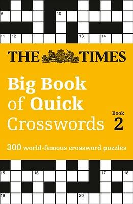 Times Big Book Quick Crosswords 2, The Times Mind Games, 9780008195779