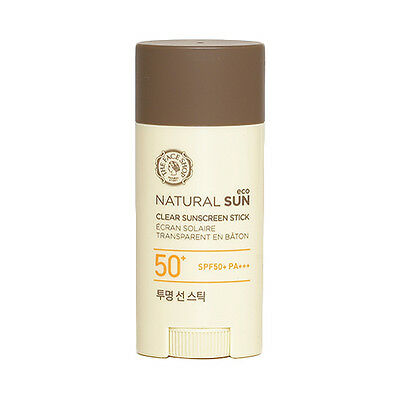 [THE FACE SHOP] Natural Sun Eco Clear Sunscreen Stick - 13.5g (SPF50+ PA+++)