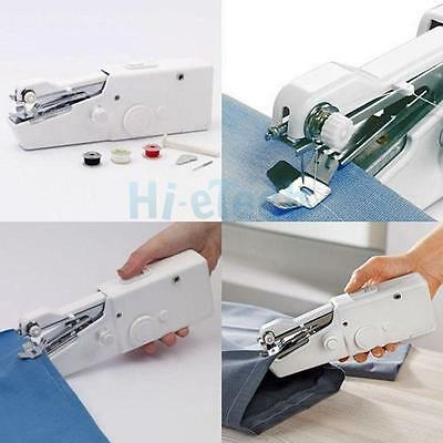 Mini Portable Smart Electric Tailor Stitch Hand-held Sewing Machine Tool Travel