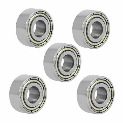 MR104ZZ 4mmx10mmx4mm Double Shielded Deep Groove Radial Ball Bearing 5pcs