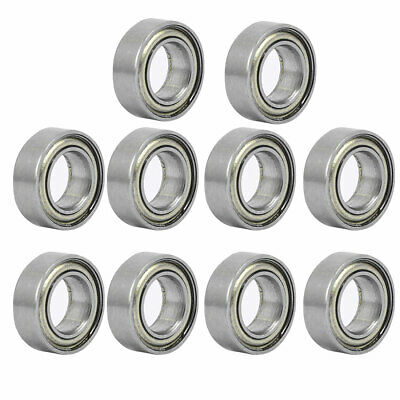MR95ZZ 5mmx9mmx3mm Double Shielded Deep Groove Radial Ball Bearing 10pcs