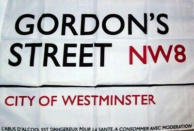 GORDON'S GIN Drapeau City of Westminster Londres NEUF