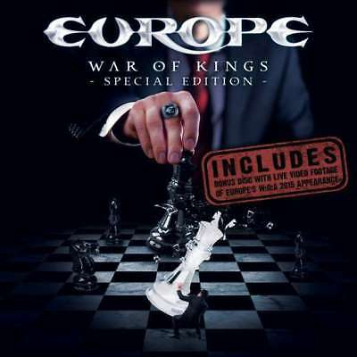 Europe - War Of Kings (special Edition) NEW Blu-Ray