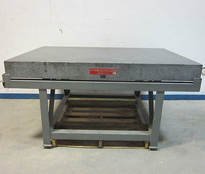 """Precision Grd-B Granite Surface Plate Inspection Table 48""""x72""""x6""""  +/- .0007"""""""