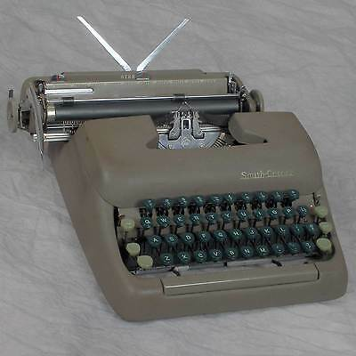 Smith-Corona Sterling Manual Typewriter working as pictured with case/new ribbon