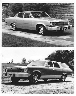 1974 AMC Matador Sedan & Station Wagon ORIGINAL Factory Photo oub5431