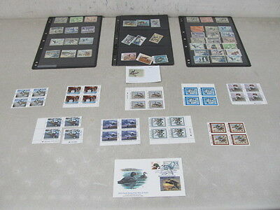 Nystamps E Old US BOB Duck stamp collection stock page face $180 retail $930