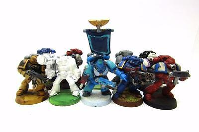 Warhammer 40k Space Marines Space Marine Tactical Squad (w5859)