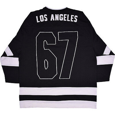 The Doors Embroidered On Back Los Angeles Hockey Jersey Licensed Adult 2Xl