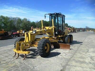 2010 Noram 65E Motor Grader, Cab, a/c, Heat, Scarifier, 1278 Hours, Clean !!