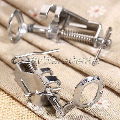 Silver Metal Darning Presser Foot Embroidery For Domestic Sewing Machine Useful
