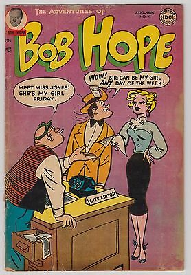Adventures of Bob Hope #28 (1954) ~ Very Good Minus (3.5) ~ DC Comics ~ Funnyman