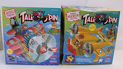 Lot of 2 Vintage 1991 Disney's Tale Spin Toys w/ Original Boxes