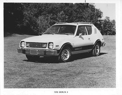 1978 AMC Gremlin X ORIGINAL Factory Photo oub5452