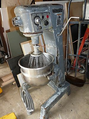 Hobart D300 Commercial Bakery 30 Quart Commercial Stainless Bowl Works But Ugly