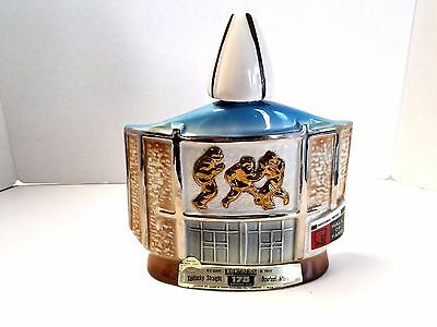 Jim Beam Pro Football Hall Of Fame Bourbon Decanter - 1972 Nfl Canton Ohio
