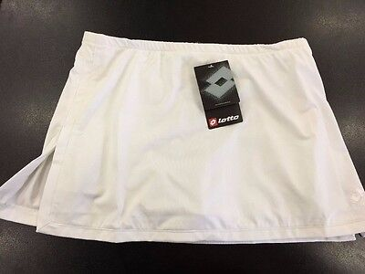 New Girls Lotto Tennis Skirt White size large 13-14 years