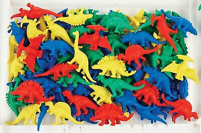 Dinosaur Counters - Sorting, Pretend Play, Colours, Games