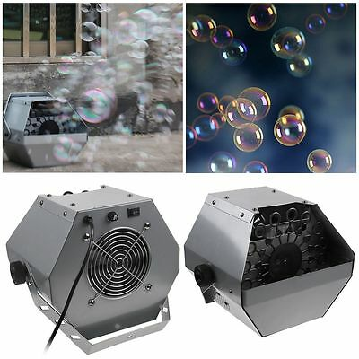 Automatic Bubble Maker Machine 16 Wand Auto Blowing Blower For DJ Party Stage