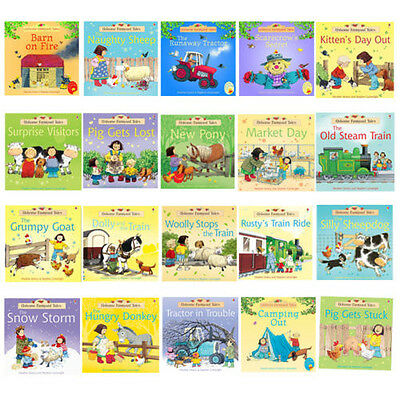 Usborne Farmyard Tales Story Collection 20 Books Set Scarecrow's Secret New Pack